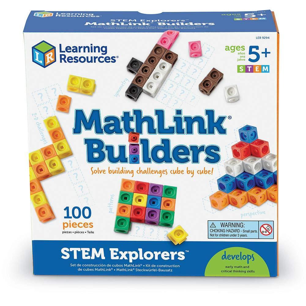"""Конструктор """"Соединительные кубики"""" Learning Resources"""