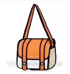Мультяшная сумка 2Д Код 10-0966