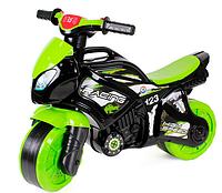 Толокар мотоцикл музыкальный со светом.Гоночный детский мотоцикл толокар.