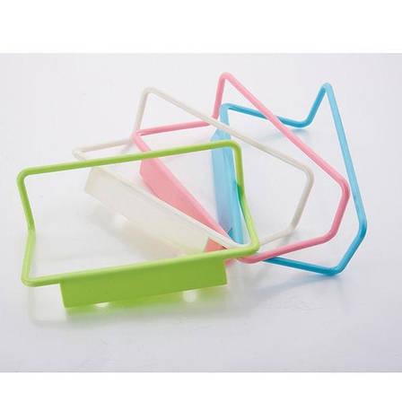 Пластиковая Вешалка для полотенец (Салатовый) (123664), фото 2