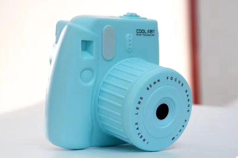Мини вентилятор Фотоаппарат GL229 (Blue) (123846)