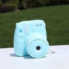 Мини вентилятор Фотоаппарат GL229 (Blue) (123846), фото 2
