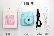 Мини вентилятор Фотоаппарат GL229 (Blue) (123846), фото 3