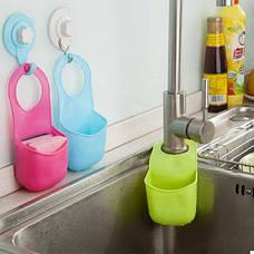 ПодВесыной органайзер для кухонных принадлежностей (Голубой) (123319), фото 2