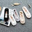 Кружевные тапочки носки (пудровыми) (123314), фото 3