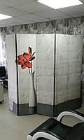 """Ширма с фотопринтом """"Кирпичная стена"""" секция 180х40, фото 1"""