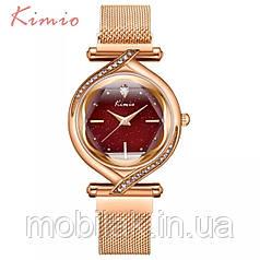 Женские часы KIMIO 3D Звездное небо Red