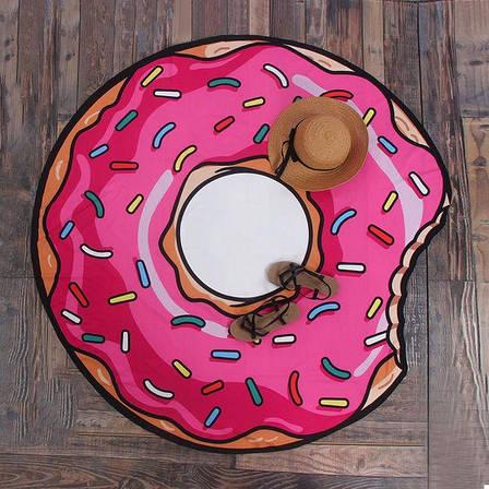 Пляжный коврик Пончик (123462), фото 2