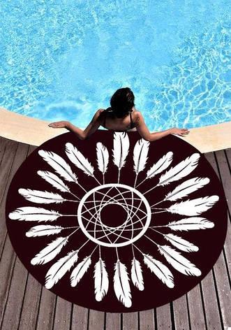 Пляжный коврик Перья (123460), фото 2