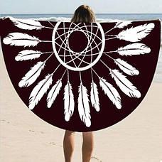 Пляжный коврик Перья (123460), фото 3