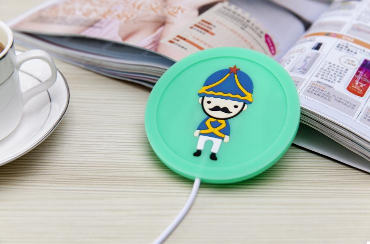 USB подогрев чашки Солдатик Зеленый (123635)