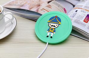 USB подогрев чашки Солдатик Зеленый (123635), фото 2