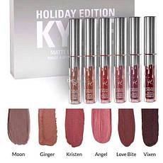 Набор Матовых Помад KYLIE Jenner Holiday Edition (123426), фото 2