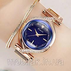 Женские часы KIMIO 3D Звездное небо Blue