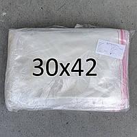 Пакет пакувальний з липкою стрічкою 30х42 (1000шт.)