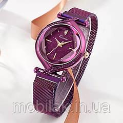 Женские часы KIMIO 3D Звездное небо Violet