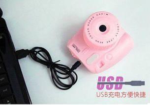 Мини вентилятор Фотоаппарат GL229 (Pink) (123848), фото 2