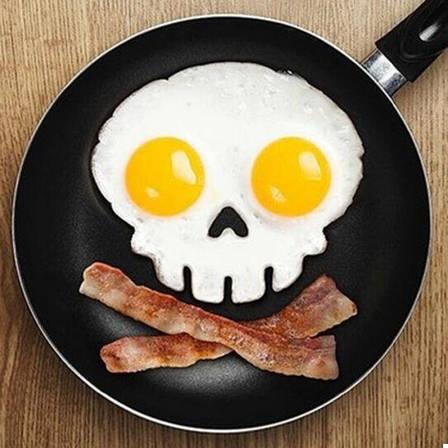Форма для жарки яиц Череп (123408), фото 2