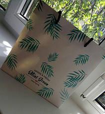 Подарочный Пакет Листья 22 см (123420), фото 2