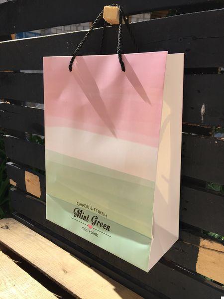Подарочный Пакет Mint 25 см (123423)