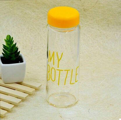 Бутылка My Bottle + чехол Yellow (123445), фото 2