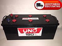 Аккумулятор 6CT-190 Ah EN 1250A (3) UNO (Бесплатная доставка  по всей Украине)