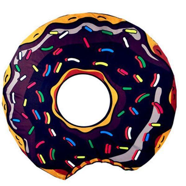 Пляжный коврик Шоколадный Пончик (123464)