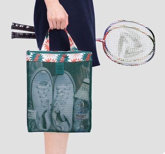Женская пляжная сумка (Зеленый) (123468)