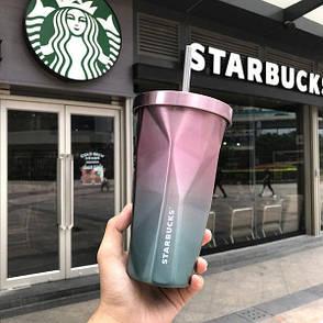 Стакан с крышкой и трубочкой Starbucks (123481), фото 2
