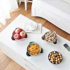 Миска для Орехов, фруктов (Розовый) (123488), фото 2