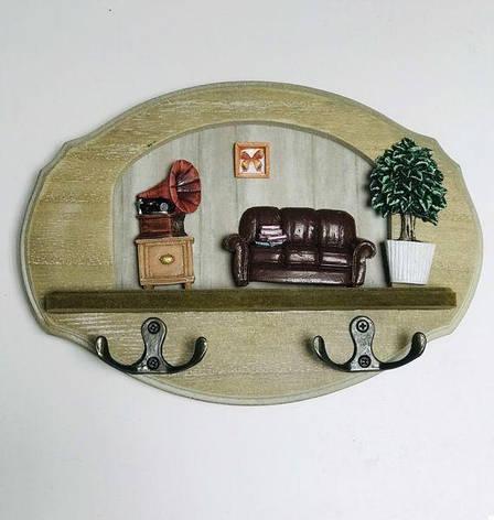 Ключниця настінна Грамофон (123906), фото 2