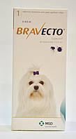 Бравекто (Bravecto®)  Жевательная таблетка для защиты собак от клещей и блох 2-4,5 кг