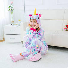 Пижама Кигуруми Единорог со звездами (L) (123867), фото 2