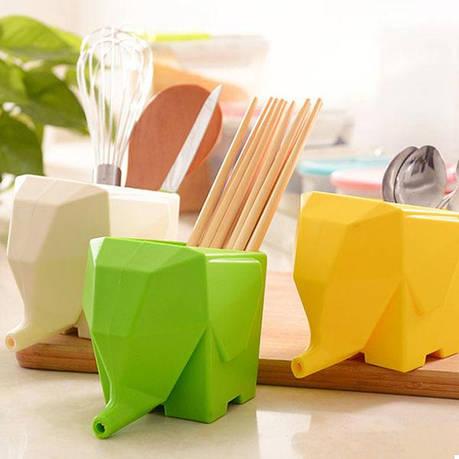 Сушилка для столовых приборов Слон (Green) (123878), фото 2
