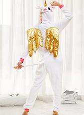 Кігурумі Єдиноріг білий з крилами (M) (123888), фото 2