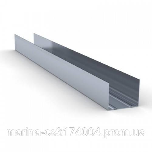 Knauf Профиль  UW-75 (0,6мм) 3м