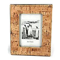 Рамка фото с отделкой под пробковое дерево S01