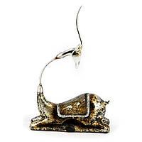 Статуэтка антилопа украшенная стеклярусом HYS4534Y3