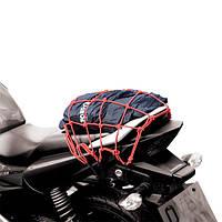 Сетка крепежная для мотоциклов и скутеровOxford Cargo Net Red OX664 30х30см