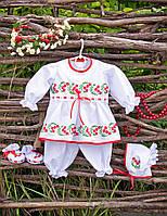 """Праздничный наряд для девочки от рождения до 4-х лет """"Калинка"""", фото 1"""