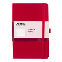 8201-03-a Книга записная Partner, 125*195, 96л, клет, красн