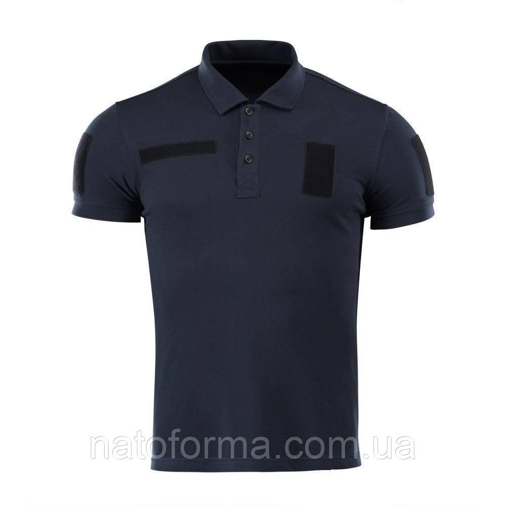 Тактическая футболкаполо Coolpass®, Police, темно-синий
