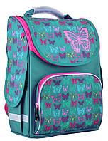 "554449 Ранец каркасный Smart PG-11 ""Butterfly turquoise"""