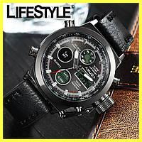 Стильные мужские наручные армейские часы AMST