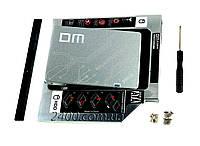 """Накопичувальний твердотільний (жорсткий) диск SSD 2.5"""" SATA III 240GB, DMF500/240G у комплекті з адаптером, фото 1"""