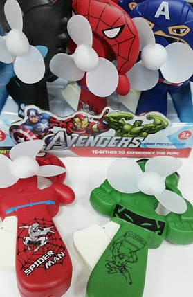 """Вентилятор ручной """"Avengers"""", фото 2"""