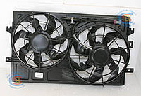 Вентилятор радиатора в сборе 1064001191 Geely Emgrand 7 EC7-RV (оригинал), фото 1