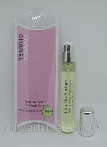Женский парфюм Chanel Chance Eeau fraiche Woman 20ml в миниатюре, фото 2
