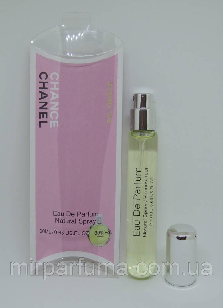 Женский парфюм Chanel Chance Eeau fraiche Woman 20ml в миниатюре