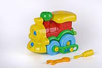 Развивающий  конструктор Паровозик Toys Plast (ИП 30003)